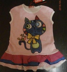 Новое платье Pelican на годик