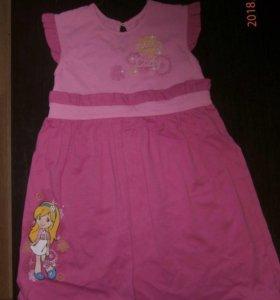 Новое платье для девочки 5-6 лет