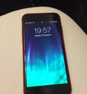 iPhone 7. 128gb. РСТ. Гарантия до 2019