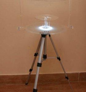 Светящийся стол для гигантских мыльных пузырей