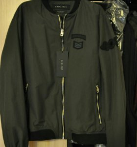 Куртка-бомбер мужская ZARA