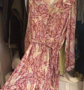 2B. rych - платье натуральный шёлк. Новое р.46