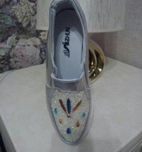 Гламурные кроссовки