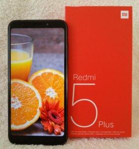Новые Xiaomi Redmi 5 Plus 4/64Gb Global Vers Black