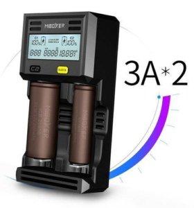 З/У Miboxer C2-6000 (2x3000mA, LCD-дисплей). Новое