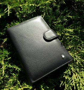Кожанный кошелек-портмоне MONT BLANC