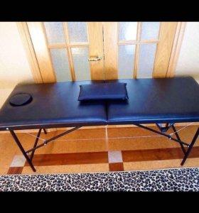 Массажный стол серия премиум + валик