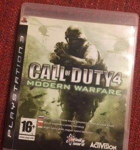 Call of duty 4 на PS3