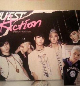"""Альбом NU'EST """"Action"""", k-pop"""