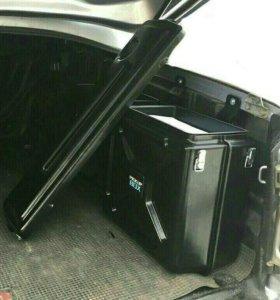 Ящик боковой неповоротный в кузов пикапа.