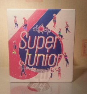 "SUPER JUNUOR ""SPY"" репак альбом, k-pop"