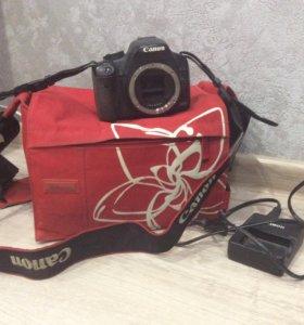 Canon 500D+объектив Tamron 28-75 mm+сумка