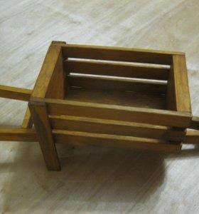 Wheelbox (кашпо - тачка)