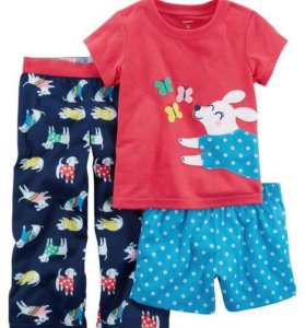 Пижама тройка на девочку