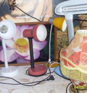 Светильники разные 5 штук