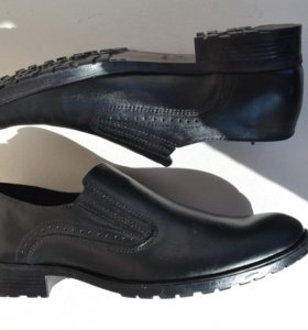 Туфли из натуральной кожи Юничел