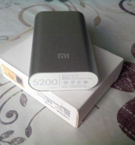 Xiaomi Power Bank 5200 mAh (4600) повер банк