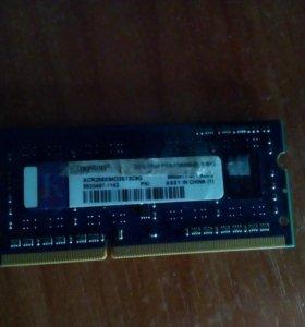 Оперативная память от ноутбука ddr3,2 GB