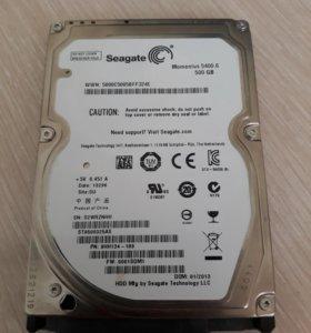 Жесткий диск ноутбука HDD 500gb 2.5