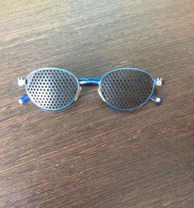 Детские тренажерные очки