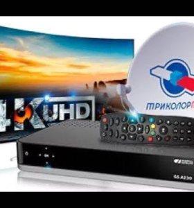 UltraHD 4K приемник Триколор