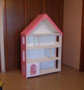 Дом для Барби + подарок мебель