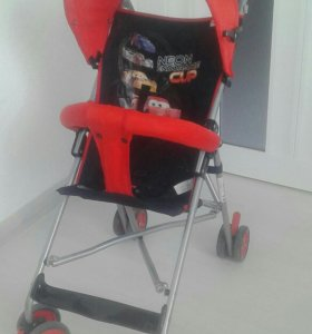 Летняя прогулочная коляска для мальчика.
