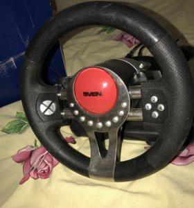 Новый игровой руль Sven Turbo