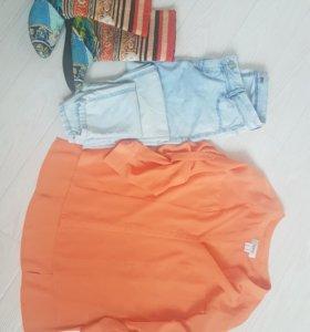 Блузка +джинсы+сапожки