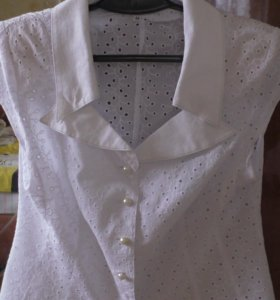 Блузка из шитья