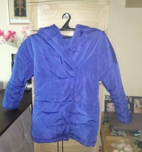 Куртка парка зефирка
