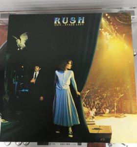 "Rush ""Exit.Stage left"" 2LP 1981 винил UK"