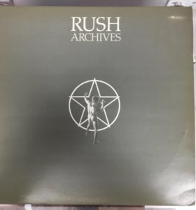 "Rush ""Rush Archives"" 3LP винил 1974 UK"