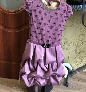 Платья для девочек на рост 130-150