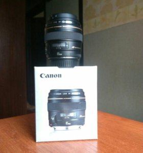 Объектив Canon Ultrasonic 85mm 1:1.8