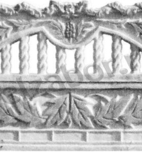 Декоративные бетонные заборы