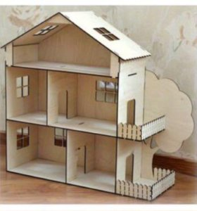 подарок на Новый год- Кукольный домик