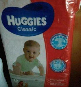 Памперсы подгузники Huggies 4