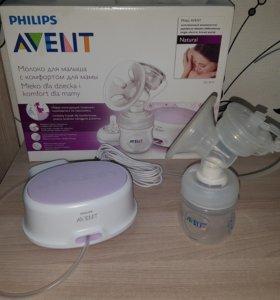 Комплект молокоотсос+стерилизатор+подогрева AVENT