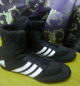 Боксёрская обувь Adidas Box Hog BOYS 2