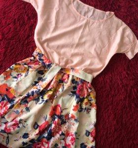 Летнее легкое платье