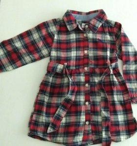 Детское платье на девочку размер 92