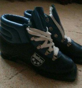 Ботинки лыжные Ботас новые