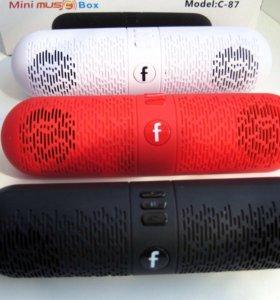 Миниколонка Music Box C-87 новая