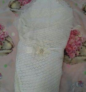 Одеяло на выписку новое