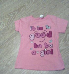 Новая футболка на малышку, Россия