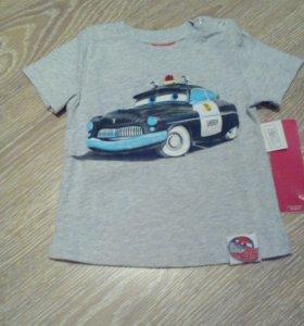 Новая футболка на мальчика, Россия