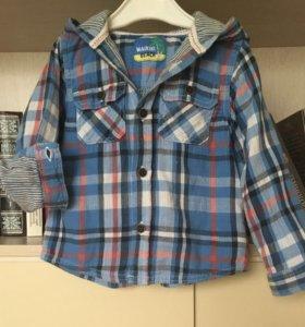 Рубашка для мальчика 92 см