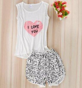 Пижама женская 40 размер