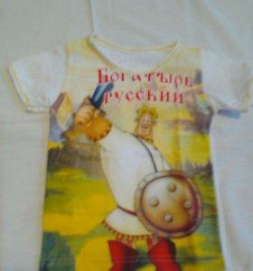 Новая футболка на мальчика, Россия, 24 размер